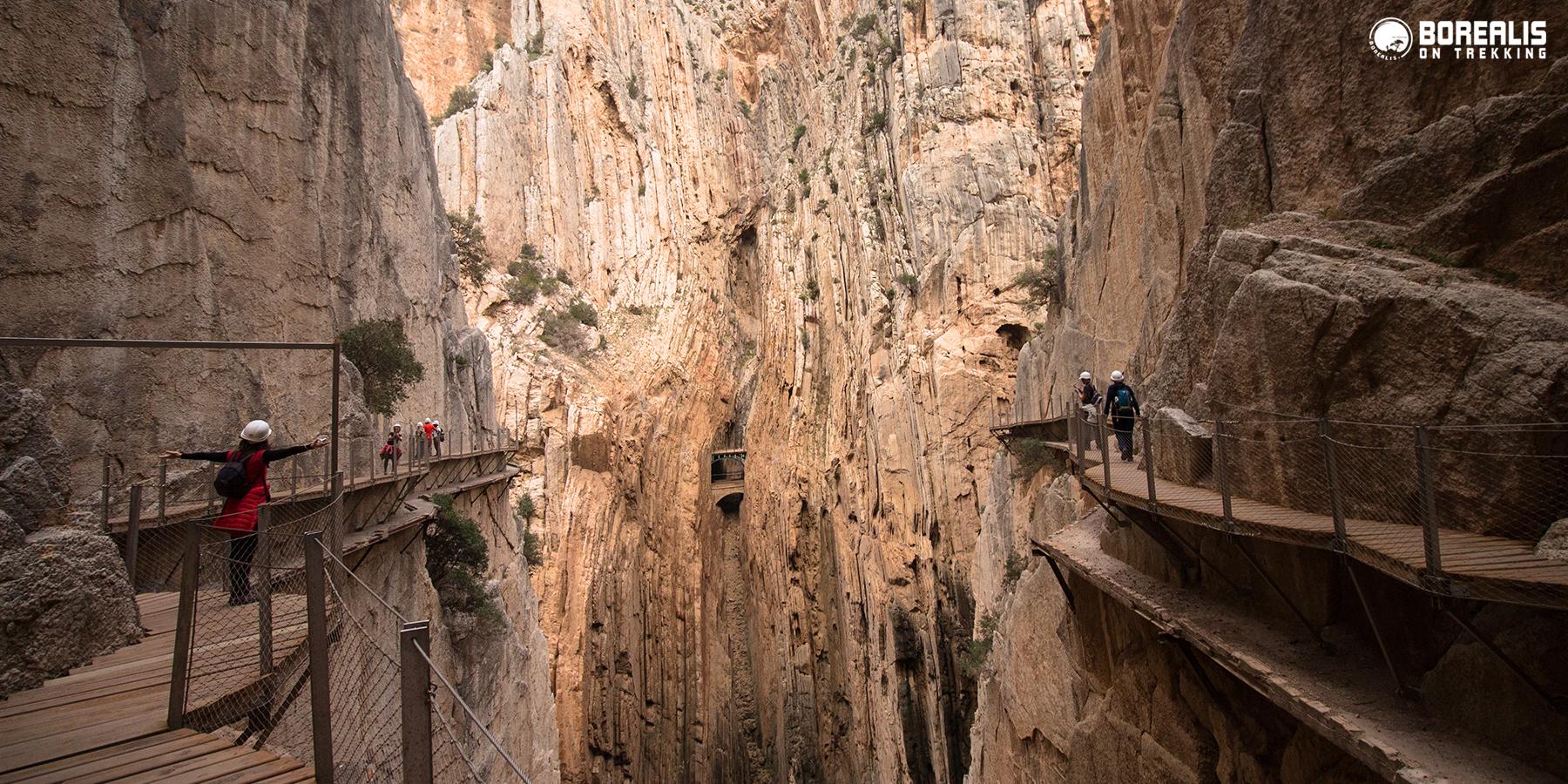 Caminito del Rey Borealis Desfiladeiro Gaitanes